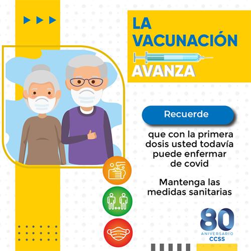 La Vacunación Avanza
